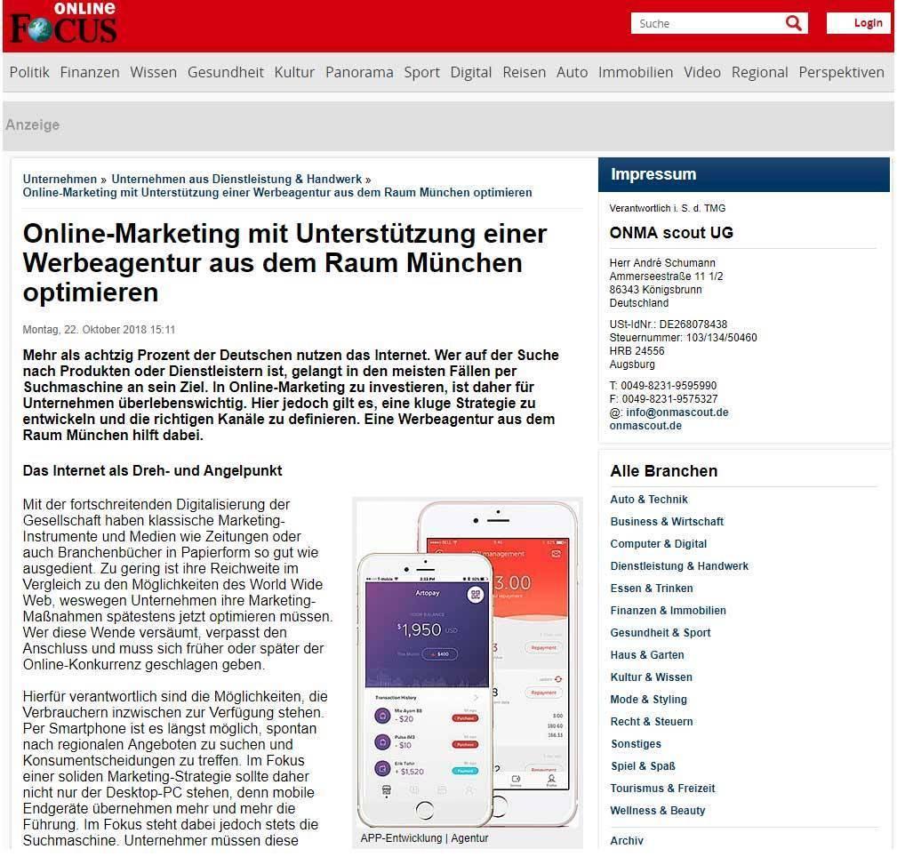 Werbeagentur München