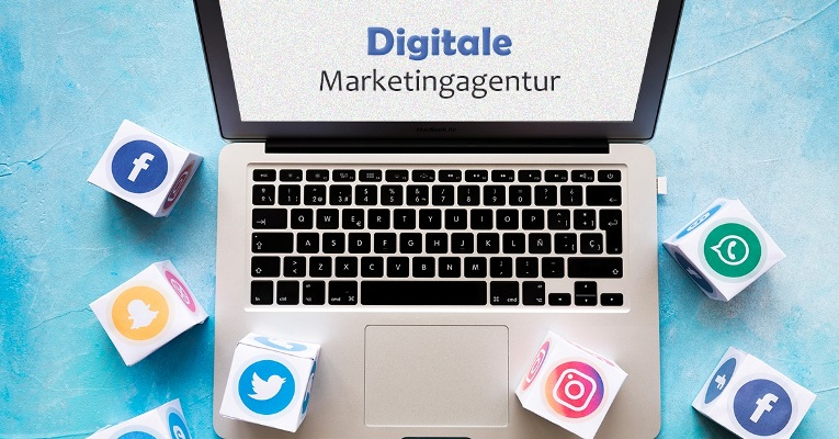 digitales Marketingunternehmen